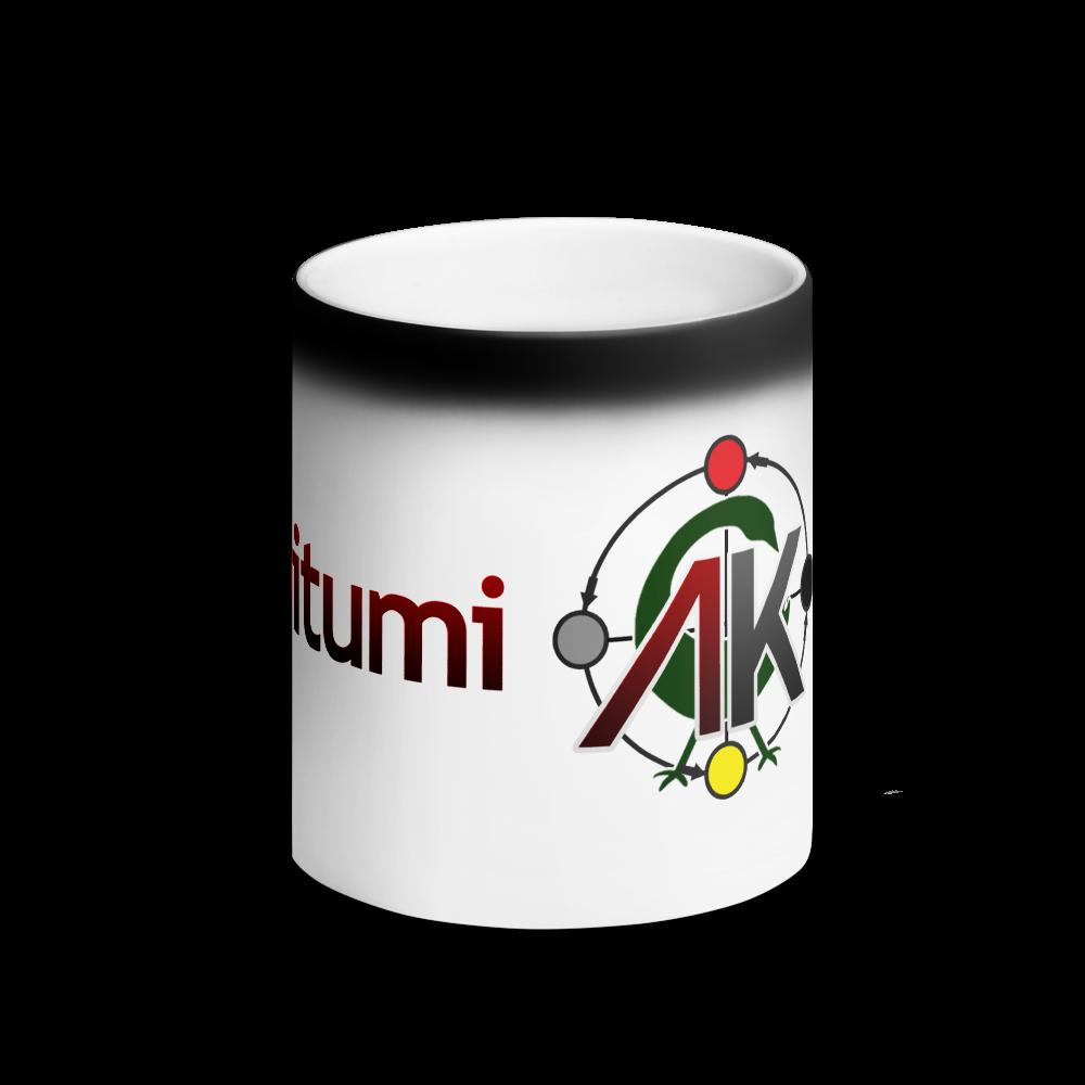 Abibitumi Matte Black Magic Mug