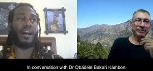 Okunini Obadele Bakari Kambon on Racism, Gandhi, Ambedkar, white world terror domination and India's caste system