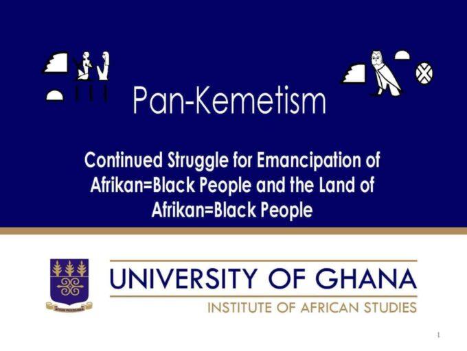 Pan-Kemetism: Emancipation of Afrikan=Black People & Land of Afrikan=Black People