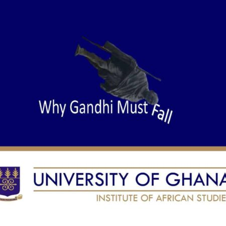 [125 Slides + Video!!!] The most comprehensive case for Gandhi's anti-Black racism ever researched and presented